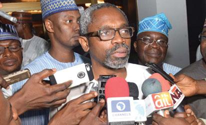 Hon. Femi Gbajabiamila Addessed journalists after Meeting with   Muhammadu Buhari at the Presidential Villa, Abuja...Wednesday night