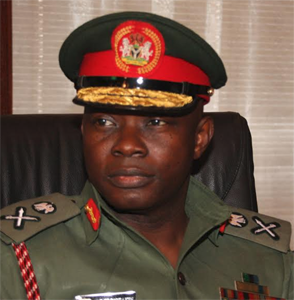 Chief of Defence Staff (CDS) General Gabriel Olonisakin