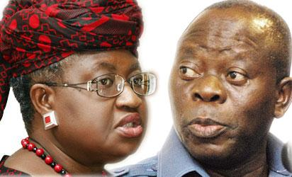 Okonjo-Iweala and Oshiomhole