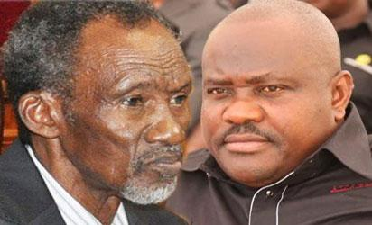 Justice Mahmud Mohammed CJN and Wike