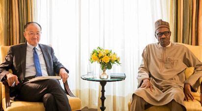 What Buhari told World Bank chief by Adesina