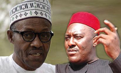 Buhari and Olisa Metuh