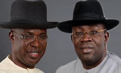 Sylva: APC leader and Dickson: Bayelsa State governor