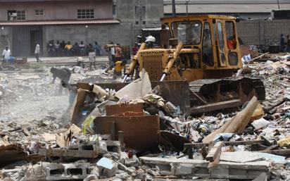 Ijora Badia demolition