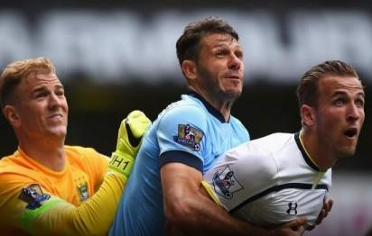 Manchester City kept a hold on Tottenham Hotspur's hopes of beating them the last time they met at White Hart Lane.