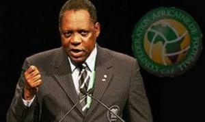 Issa Hayatou, Acting FIFA President