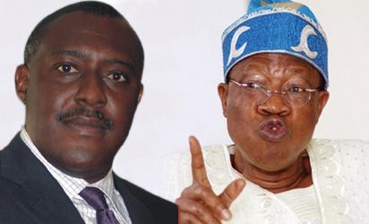 Olisa Metuh of the Peoples Democratic Party, PDP and Alhaji Lai Mohammed,