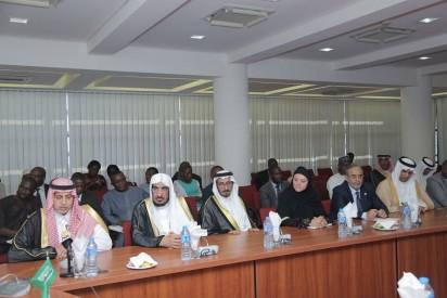 Senate President Bukola Saraki and other Senators, received a delegation from the Advisory Council of the Kingdom of Saudi Arabia, led by Prince Dr. Khalid Bin Abdullah Al Saud
