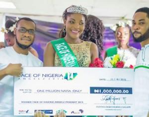 New 'Miss Heritage & Face of Nigeria Angelz'