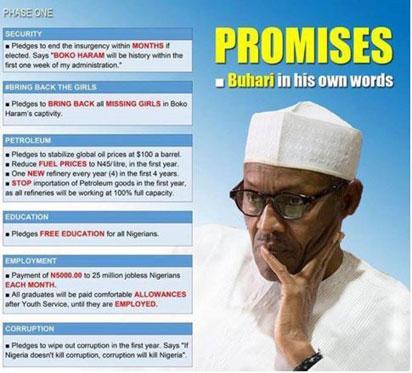 Buhari-promise