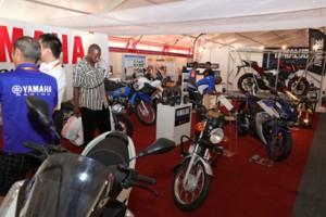 •Yamaha stand at the just concluded Lagos Trade Fair.