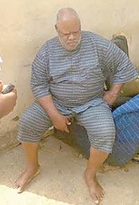 65-yr-old suspect, Bassey