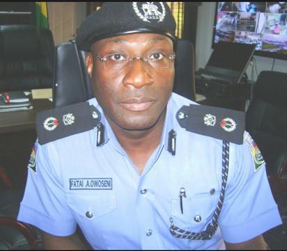 Lagos CP, Fatai Owoseni