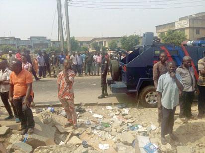 Oshodi market demolition