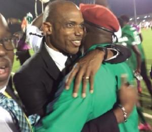 File: Sunday-Oliseh-embraced-Solomon-Dalung