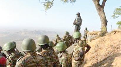 Bound for Mbo in Akwa Ibom State...Cameroun Gendarmes acting as occupation force in Nigerian territories since Bakassi