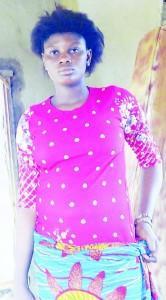 The new bride, Chidinma