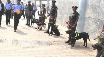 Police Sniffer-dogs