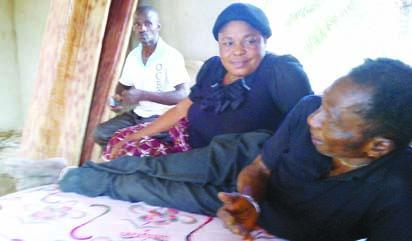 Emeka, first son, Franca, one of the wives and Onuwa