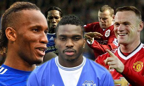 -Drogba, Yobo and Rooney