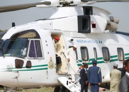 Buhari-helicopter