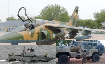 Nigerian Air Force jets bombard of Boko Haram fighters in Sambisa