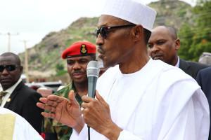 President Buhari commissions Road Projects in Wanke Zamfara State