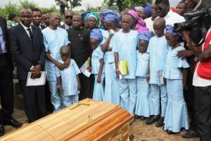 The Olawale's, friends and relations pay last respect to late Eunice Olawale