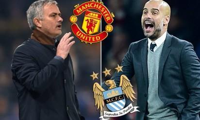 Mourinho vs Guardiola, Manchester City vs Manchester United
