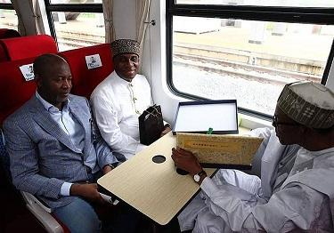 Just in: Buhari approves rail lines from Kano to Daura his hometown, others