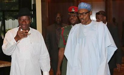 President Muhammadu Buhari and Dr Goodluck Ebele Jonathan