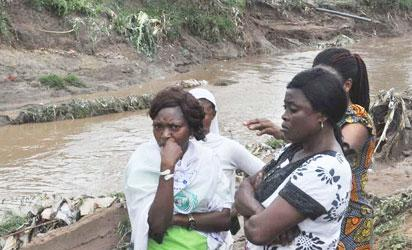My last conversation with my family before I lost them to Lokogoma flood – wife