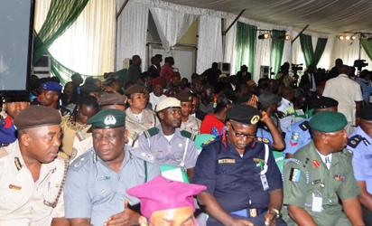 Cross section of guest at the South-east edition of the Federal Government's Town hall meeting