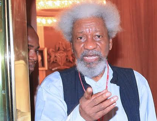 By all logic I should not be alive right now – Wole Soyinka