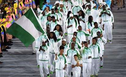 KIT SCANDAL...Team Nigeria appeared in the worst outfit among participating countries at the Opening Ceremony of the ongoing Olympics. They appeared in their track suits instead of the outfit showcased before President Muhammadu Buhari at the handing over ceremony at the Presidential Villa prior to their departure.