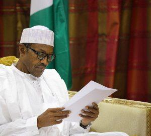 Buhari reading