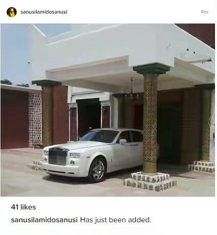 Emir of Kano, Sanusi acquires new N132m Rolls Royce for Sallah