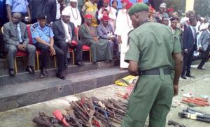 Militants in Imo state surrender arms