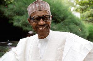 President Buhari in Daura.