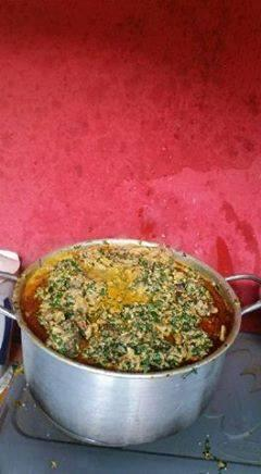 Alligator killed in Lagos and used to cook Egusi soup