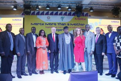 "Panelists at the ""Merck More than a Mother"" launch in Nigeria, at the Oriental Hotel, Victoria Island, Lagos."