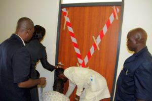 NASS management sealing of Sen. Jibrin's office