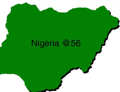 Nigeria At British ExServiceman Calls For Unity In Nigeria - Nigeria map