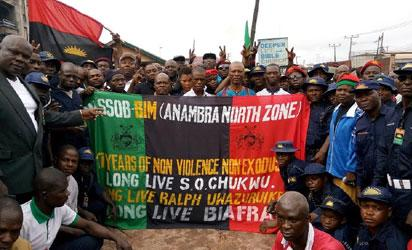 …even if Buhari steps down for an Igbo man to be president of Nigeria  it cannot change demand  Biafra – MASSOB