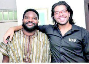 Mr Saifudeen Seun Edu (left) and Tushar Hathiramani, partners at Jeun Soke Supper Club, the newest Supper Club in Lagos PHOTO: AKEEM SALAU