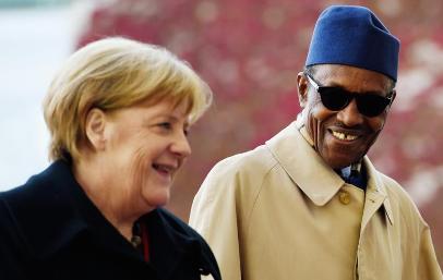 Breaking: Buhari congratulates Merkel for winning 4th term