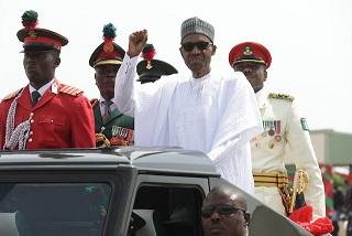 President Buhari in Kaduna on Saturday