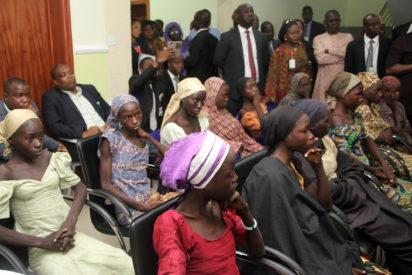 21 released Chibok girls