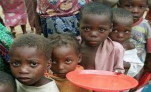 Children affected by poverty
