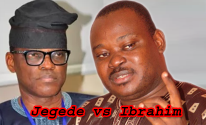 Eyitayo Jegede and Jimoh Ibrahim